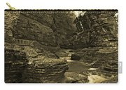 Watkins Glen In Orotone Carry-all Pouch
