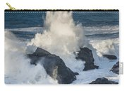 Wave Meets Seastack Carry-all Pouch