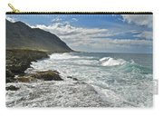 Waves Breaking On Shore 7876 Carry-all Pouch