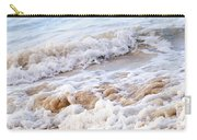 Waves Breaking On Tropical Shore Carry-all Pouch