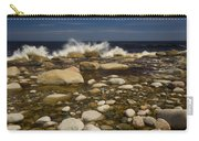 Waves Hitting Rocks, Anchor Brook Carry-all Pouch