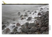 Waves Hitting The Shore Carry-all Pouch