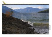 Waves On The Shore Carry-all Pouch