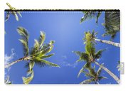 Waving Palm Trees Carry-all Pouch