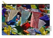 Waving Prayer Flags Carry-all Pouch