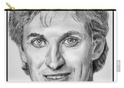 Wayne Gretzky In 1992 Carry-all Pouch by J McCombie