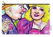 W.c. Fields And Mae West Carry-all Pouch