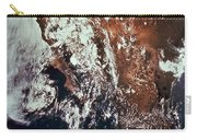 Weather Patterns Over Earth Carry-all Pouch