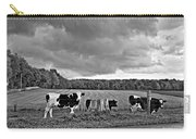 Weather Talk Monochrome Carry-all Pouch
