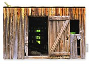 Weathered Barn Door Carry-all Pouch
