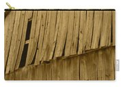 Weathered Barn I In Sepia Carry-all Pouch