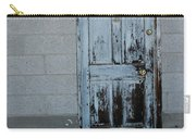 Weathered Door Virginia City Nevada Carry-all Pouch
