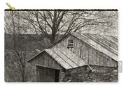 Weathered Hillside Barn Carry-all Pouch