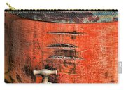 Weathered Red Oil Bucket Carry-all Pouch