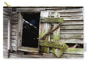 Weathered Wood Window Carry-all Pouch