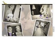 Wedding Album Page - Fine Art Carry-all Pouch