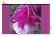 Wedding Blessings Greeting Card - Columbine Blossom Carry-all Pouch