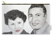 Wedding Day 1954 Carry-all Pouch
