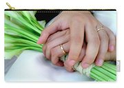 Wedding Rings Carry-all Pouch by Carlos Caetano