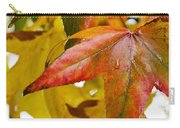 Weeping Red Leaf Carry-all Pouch