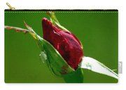 Weeping Rose Bud Carry-all Pouch