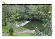 Weir Below Lover's Leap - Dovedale Carry-all Pouch