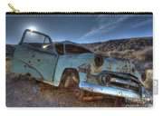 Welcome To Death Valley Carry-all Pouch by Bob Christopher