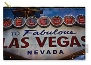 Welcome To Fabulous Las Vegas 2 Carry-all Pouch