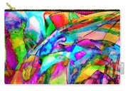 Welcome To My World Triptych Carry-all Pouch
