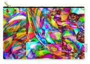 Welcome To My World Triptych Horizontal Carry-all Pouch