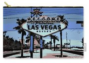 Welcome To Vegas  Carry-all Pouch
