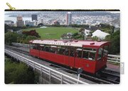 Tram Car Viewpoint - Wellington, New Zealand Carry-all Pouch