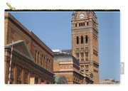 Wells Street Theater District And City Hall Carry-all Pouch