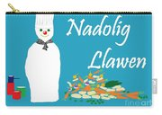Welsh Snowman Chef Carry-all Pouch