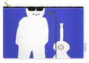 Welsh Snowman Musician Carry-all Pouch