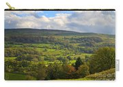 Wensleydale Near Westholme Bank In The Yorkshire Dales Carry-all Pouch