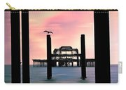 West Pier Silhouette Carry-all Pouch