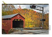 West Virginia Covered Bridge - Carrollton Carry-all Pouch