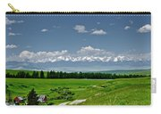 Westerly View Of The Bridger Mountains Carry-all Pouch