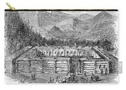 Western Fort, 19th Century Carry-all Pouch