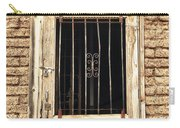 Western Jail House Door Carry-all Pouch