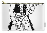 Western Outlaw Carry-all Pouch