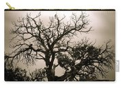 Western Winter Tree Carry-all Pouch