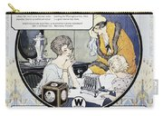 Westinghouse Ad, 1924 Carry-all Pouch