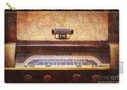 Westinghouse Fm Rainbow Tone Radio Carry-all Pouch