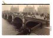 Westminster Bridge - London - C 1887 Carry-all Pouch