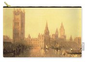 Westminster Houses Of Parliament Carry-all Pouch