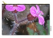 Wet Geranium  Carry-all Pouch