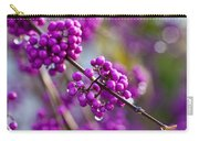 Wet Purple Carry-all Pouch