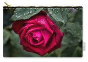 Wet Weather Rose Carry-all Pouch
